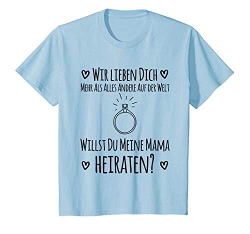 Kinder Willst du meine Mama heiraten | Hochzeitsantrag T-Shirt T-Shirt