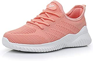 Womens Memory Foam Walking Shoes Lightweight Fashion...