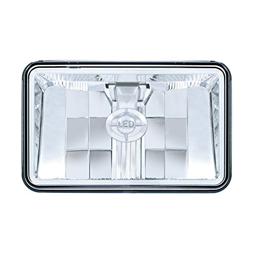 """United Pacific 31396 4"""" x 6"""" One High Power LED Headlight - Low Beam"""