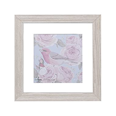 11x11 Square Picture Frame Natural - Oak Matted to 8x8, Frames by EcoHome