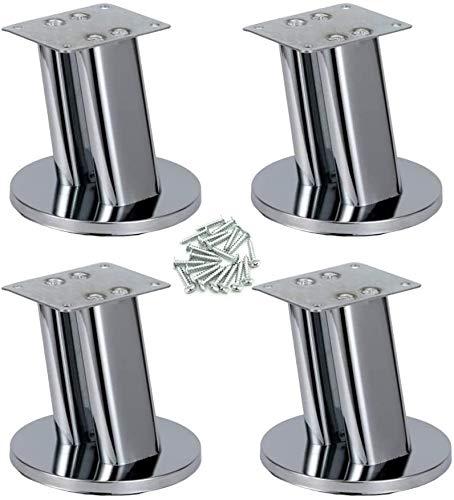 Piernas 4pcs Metal Muebles, Pies de Hierro alacena, Patas de la Mesa, Sofá Piernas Pies Mueble de televisión
