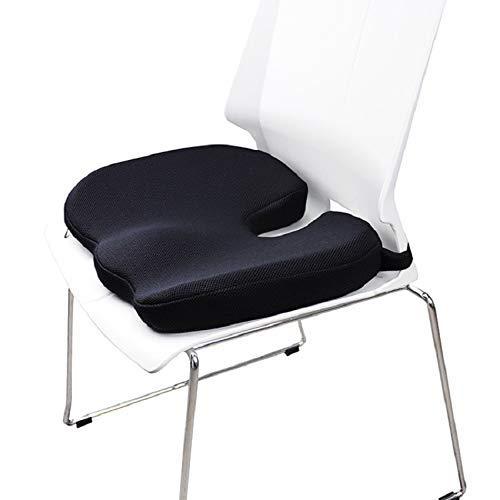 DAGUAI Silla de Oficina Gel Cojines de Asiento del Amortiguador Espesar T Forma de Espuma de Memoria de la tapicería de Silicona Almohada cojín del sofá Soft Comfort Cojines 🔥