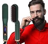 ANNLAN Nuevo Cepillo Alisador de Barba y Cabello multifuncional para Hombres Y mujeres.Alisador de Pelo, Peine Eléctrico Plancha de Pelo Profesional Multifuncional .