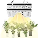 FECiDA 2-Pack LED Plant Grow Light Full Spectrum, Total 600W CFL, HPS Grow Lights Equivalent, Premium Sunlike Grow Light for Indoor Plants in Indoor Garden, Hydroponics, Greenhouse