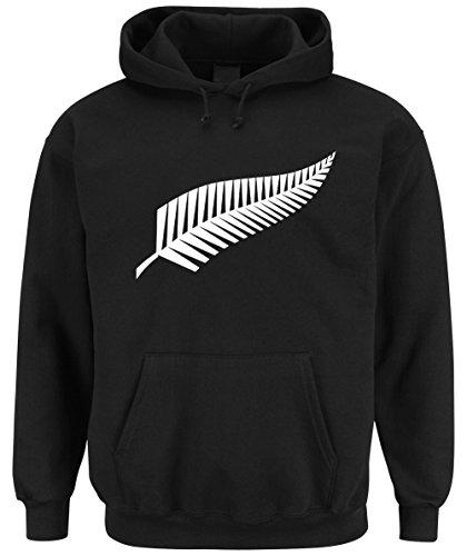Certified Freak New Zealand Hooded-Sweater Black XL