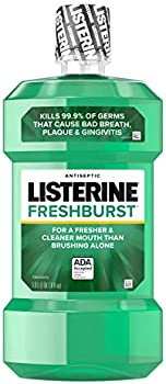 Listerine Antiseptic Mouthwash, Fresh Burst, 1 Liter