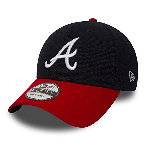 New Era Herren League Baseball-Cap, Atlanta Braves, One Size (herstellergröße: One Size)