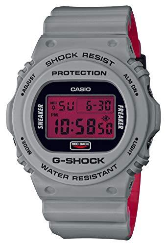 [カシオ] 腕時計 ジーショック Sneaker Freaker STANCE コラボレーションモデル DW-5700SF-1JR メンズ グレー