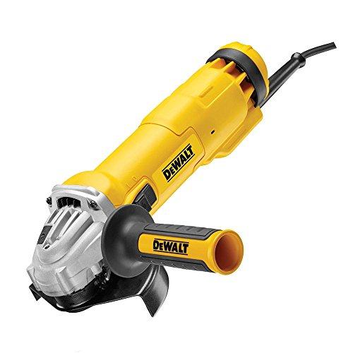 Dewalt DWE4227-QS DWE4227-QS-Mini-amoladora 125mm 1.200W 11.000 RPM Embrague Suave + Bloqueo y re-Arranque, 1200 W, 230 V, Multicolor, 125 mm