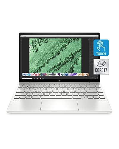 "HP Envy 13 Laptop, Intel Core i7-1065G7, 8 GB Ram, 256 GB SSD Storage, 13.3"" Full HD Touchscreen, Windows 10 Home, Fingerprint Reader (13-ba0010nr, 2020 Model)"