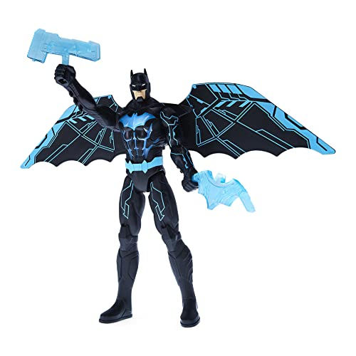 DC Comics Batman Bat-Tech 12-inch Deluxe Action Figure with Expanding Wings, Lights and Over 20 Sounds and Phrases