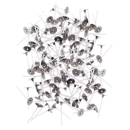 Non-brand Stoppini in Cotone A Candela per Fai-da-Te con Candele, 200 Pezzi A Basso - 2,5cm