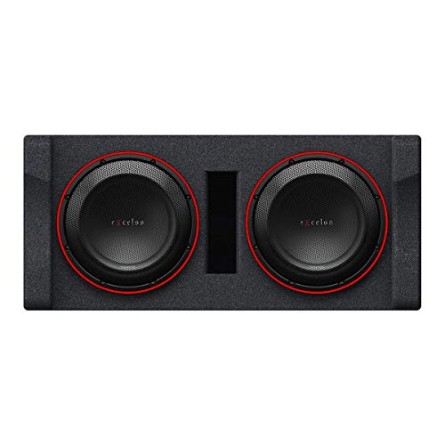 Kenwood eXcelon Dual 12' Preloaded High Power Subwoofer Enclosure