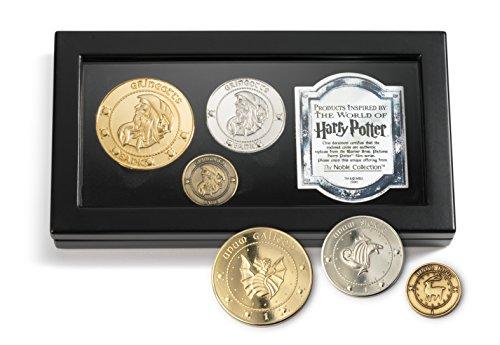 The Noble CollectionHarry Potter Gringotts Bankmünzensammlung von