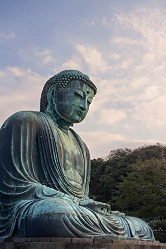 Meditating Buddha Journal (Japan Travel Photography)