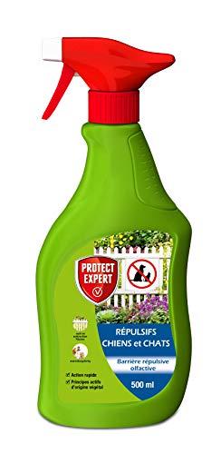 PROTECT EXPERT REPUL500 Répulsif Chats Et Chiens Liquide 500ml, Prêt-à-l'emploi