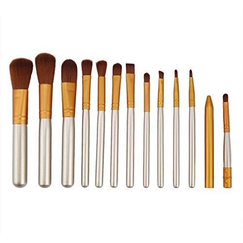 Silverdee 12 Stück Make-up Tools Kit Kosmetische Lidschatten Foundation Concealer Pinsel Set Frauen...