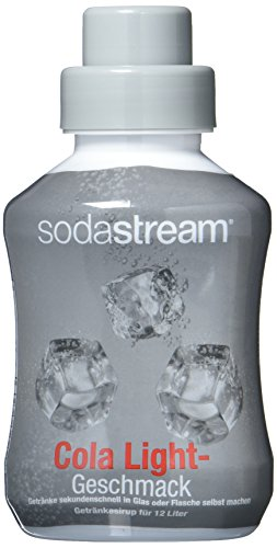 SODASTREAM CLASSICS 2x Cola Light Geschmack, 500ml