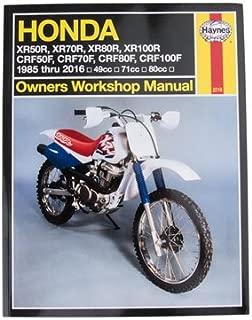 Haynes Repair Manual for Honda XR50R 2000-2003