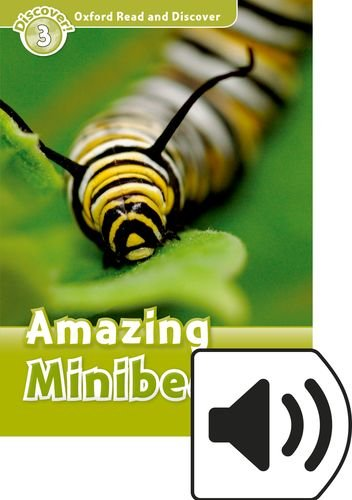 Oxford Read & Discover 3 Amazing Minibeasts MP3 Audio (Lmtd+Perp)