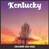 Kentucky Calendar 2021-2022: April 2021 Through December 2022 Square Photo Book Monthly Planner Kentucky small calendar
