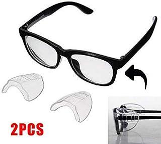 d6fa43c943 2 Protectores Laterales de Seguridad para Gafas, Unisex, universales y  Transparentes, para Gafas