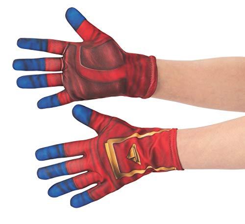 Rubies Guantes oficiales del Capitán Marvel, accesorio de d