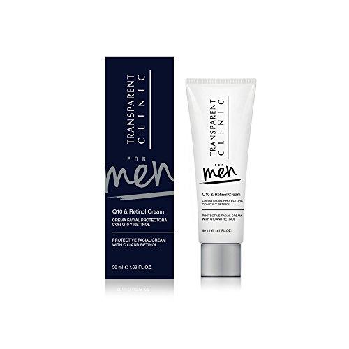 Clinic Crème pour le visage Man Q10 & Retinol 50 ml, prix / 100 ml : 27.9 EUR