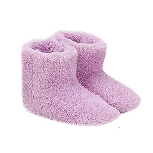NaisiCore Climatizada Zapatillas Calientes USB Calefacción Zapatillas de Invierno Plantillas de Calentamiento para Buena Noche de sueño 5V Calentador