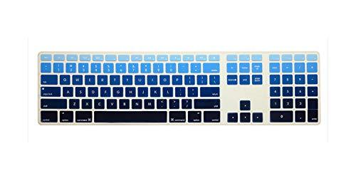 Us Rainbow Color Silicone Keyboard Folie voor desktop computer for imac4