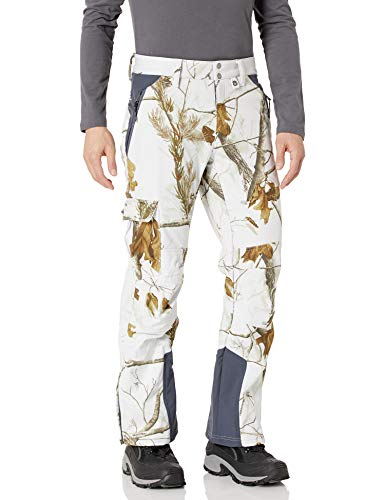 Arctix Men's Advantage Softshell Pants, Realtree AP HD White Snow Camo, Large