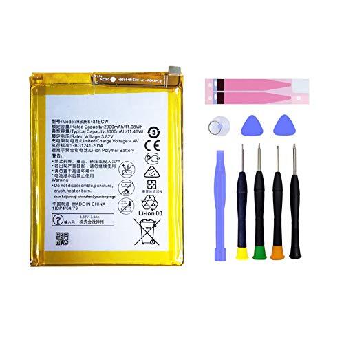 Pattaya HB366481ECW Batería compatible con Huawei P8 Lite 2017 P9 P9 Lite P10 Lite P20 Lite Batería de repuesto