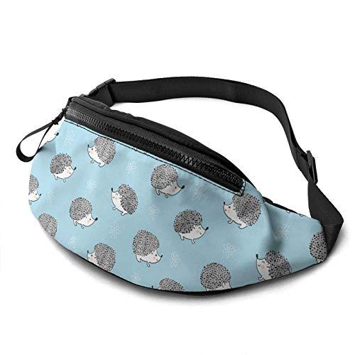 AOOEDM Süße Aquarell Igel Gürteltasche Mode Taille Tasche