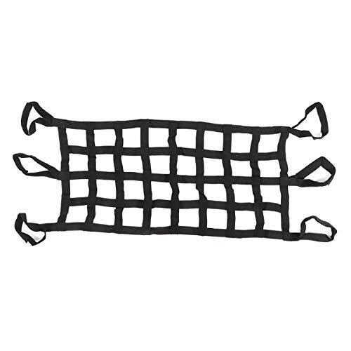 HKPKYK Multifunktions-Autodachnetz Weiche Hängematte Heckklappe Cargos Mesh Fits, Für Wrangler YJ TJ JK JL Autowerkzeuge