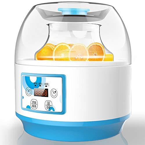 Frischkäsebereiter Elektrischer Joghurtmaker 2 Liter Joghurt Automat Joghurtmaschine Joghurtbereiter Käsebereiter Käse-Zubereiter für Ihr Morgen Müsli Automatische Abschaltung, Temperaturregelung