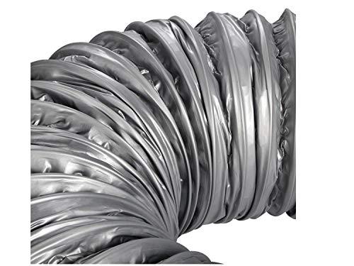 SY-KTLJ, 4 \'\' ~ 8 \'\' Manguera de ventilación flexible de bajo ruido for silenciador de conductos - Conducto de aire de aluminio aislado for aire acondicionado, longitud 1,2 m ( Size : 8inch 200mm )