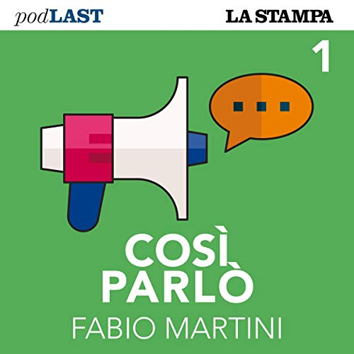 Le parole di Cavour (Così parlò 1) copertina