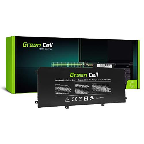 GC® Laptop Akku für Asus ZenBook UX305F UX305FA UX305FA-ASM1 UX305FA-FB003H UX305FA-FB006H (Li-Polymer Zellen 3947mAh 11.4V Schwarz)