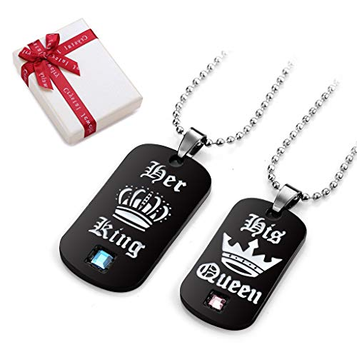 Acero inoxidable DogTag IDTAG XL con foto grabado y texto personal como idea de regalo