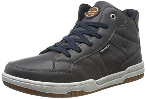 Lico Slade Jungen Hohe Sneaker, Grau/ Marine, 35 EU