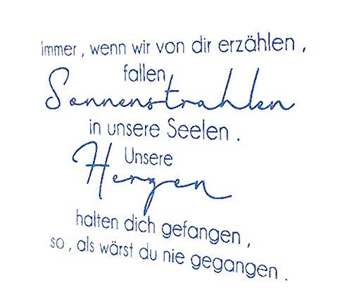 Deutsche Wörter transparent klarer Silikonstempel/Siegel für DIY Scrapbooking/Fotoalbum dekorativer klarer Stempel M1310