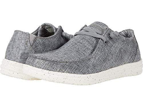Skechers USA Melson-Chad Men's Slip On 14 D(M) US Grey