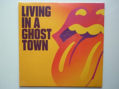 The Rolling Stones vinyle 25cm Living In A Ghost Town vinyle couleur Violet