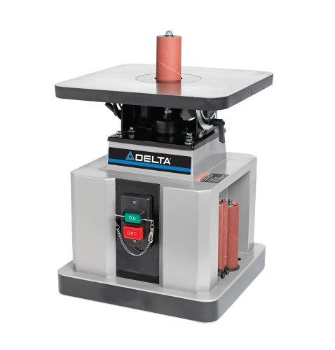 Delta Woodworking 31-483 Heavy-Duty Oscillating Bench Spindle Sander, 1/2-HP, 115-volt