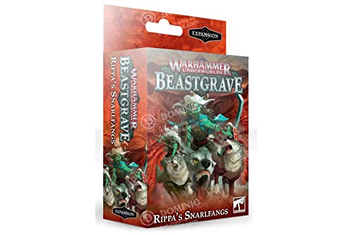 Games Workshop Warhammer Underworlds: Beastgrave - Rippa's Snarlfangs - English