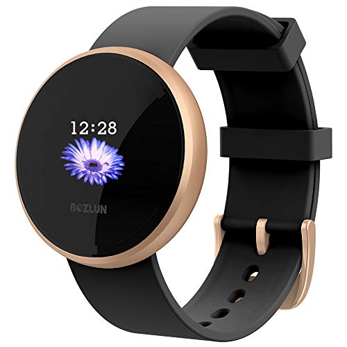 LB LIEBIG Women's Smart Watch, IP68 Waterproof Smartwatches Fitness Sleep Monitor Call Reminder, Fitness Tracker Smart Watch for Women, Color Touch Screen for iPhones and Android iPhones New York