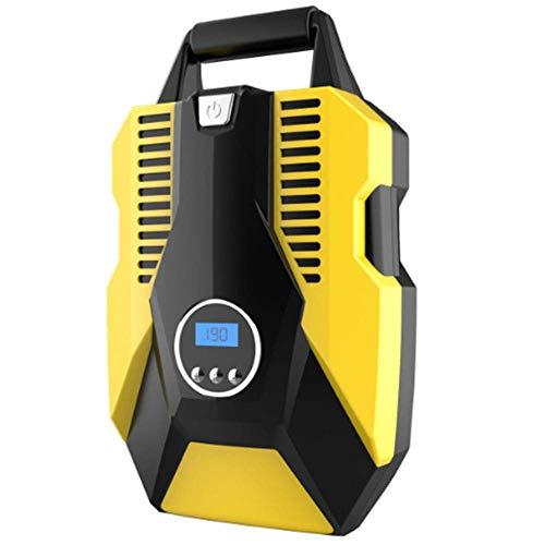 YLJYJ Bomba de Aire para automóvil, Bomba de compresor de Aire portátil de 12 V, Pantalla Digital de hasta 150 PSI, Control de presión preciso de Apagado automático, para C (Piscina)