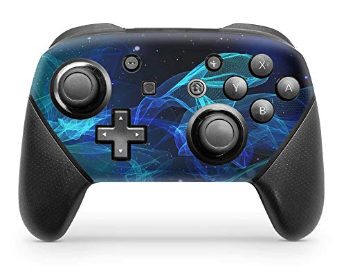 Skins4u Aufkleber Design Schutzfolie Vinyl Skin kompatibel mit Nintendo Switch Pro Controller Star Spiral