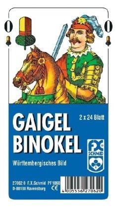 Gaigel / Binokel, Württembergisches Bild