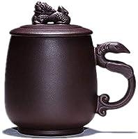 Idéal pour un usage quotidien à la maison, pour un goûter original ou pour une utilisation dans les cafés et restaurants. Théière facile à utiliser, commencez à utiliser la théière en céramique pour une infusion facile tous les jours, de la taille de...